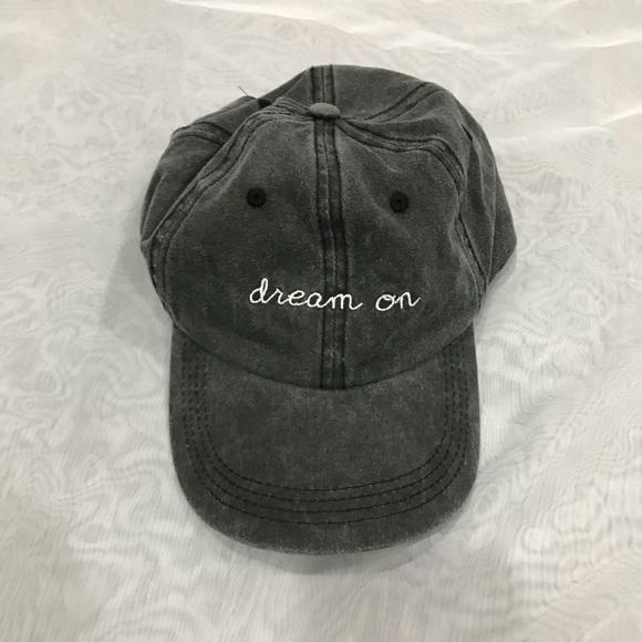 4c4bb3d7579 Grey wash baseball cap